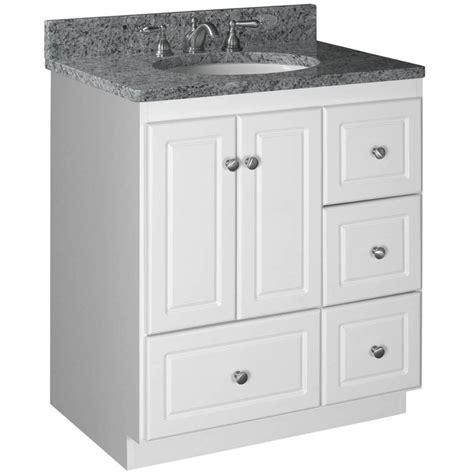 bathroom vanity  drawers  left side