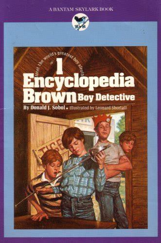 encyclopedia brown boy detective  donald  sobol