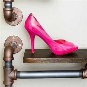 HOME DZINE Home DIY Industrial style shoe rack