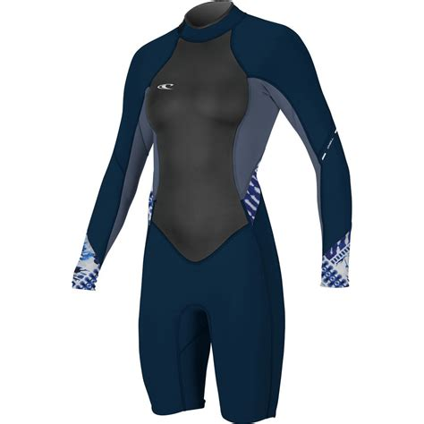 oneill bahia spring wetsuit long sleeve womens