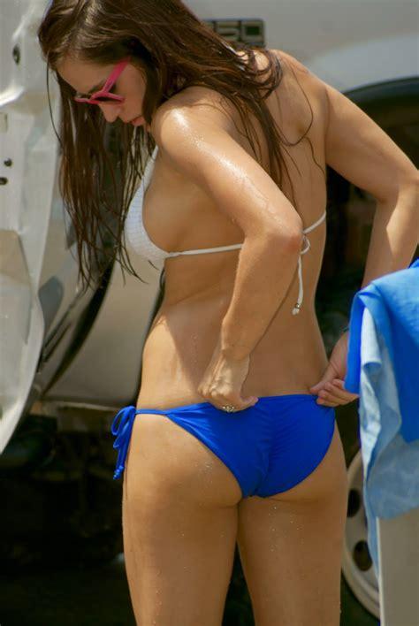 Non Nude Sexy Women Bikini Car Wash