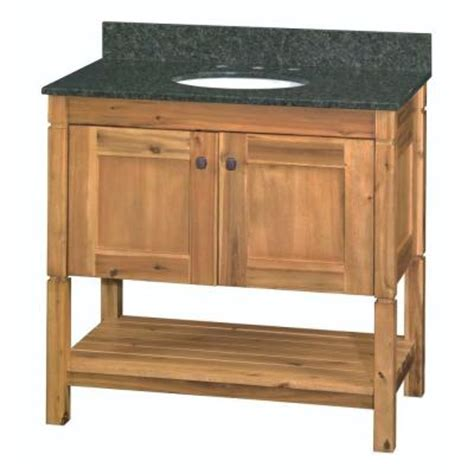 home decorators collection home depot vanity home decorators collection bredon 37 in vanity in rustic