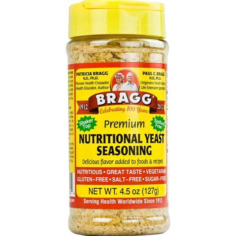 nutritional yeast bragg nutritional yeast seasoning premium 4 5 oz jet com