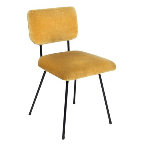 chaise moutarde chaise jaune moutarde