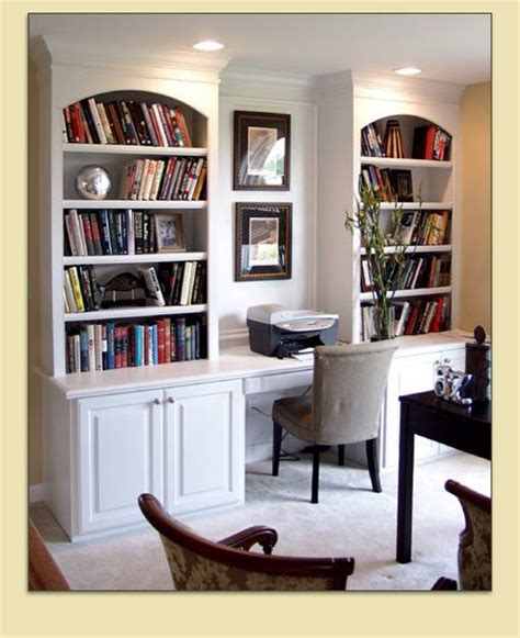 Bookcase And Study Nook  Bookcases And Builtin Desks