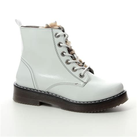 219 items on sale from £59. Bugatti Neria Marten 43254932-2060 White patent ankle boots
