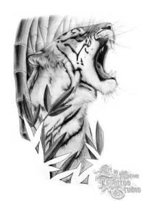 Tiger Tattoo Stencils
