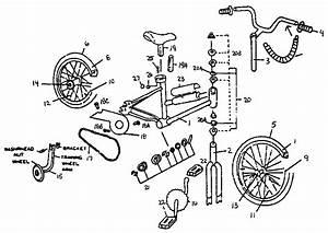 Sears Model 642459380 Bicycles Genuine Parts