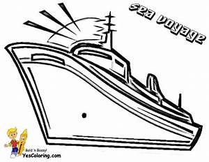 Swanky Coloring Page Cruise Ships