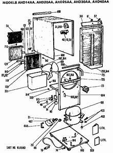 Ge Model Ahd25aa Dehumidifier Genuine Parts