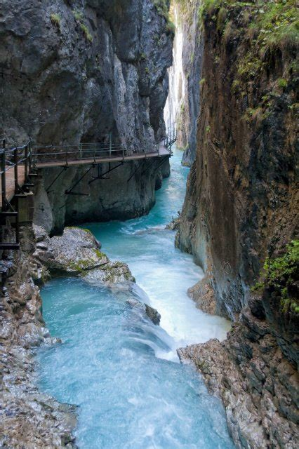 Scenery And Nature Leutasch Spirit Gorge Mittenwald