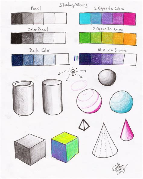 shading mixing worksheet p2 by diana huang on deviantart