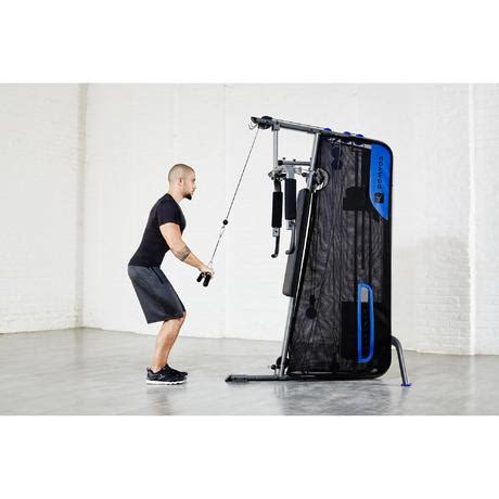 compact weight training home gym domyos  decathlon