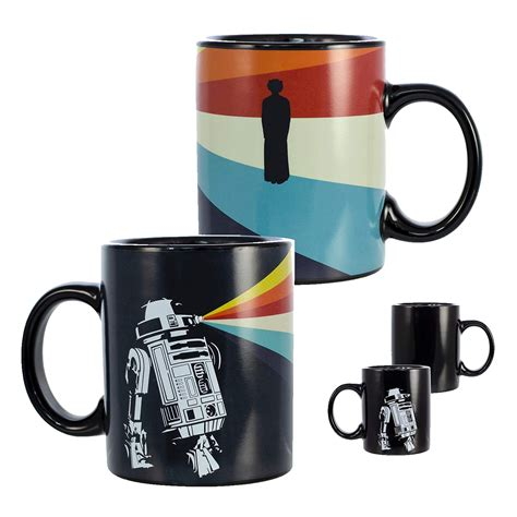 All products from star wars coffee mug category are shipped. Star Wars R2-D2 Heat Reveal Leia 11oz Ceramic Coffee Mug ...