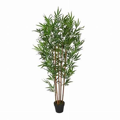 Plant Bamboo Potted Artificial Indoor Tree Replica