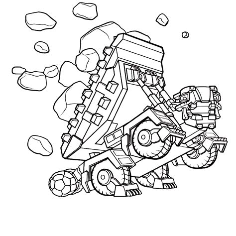 Dinotrux Kleurplaat by Leuk Voor Dinotrux Ton Ton