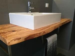 Waschtisch Mit Becken : waschtisch mit olivenholz gr becken ~ Markanthonyermac.com Haus und Dekorationen