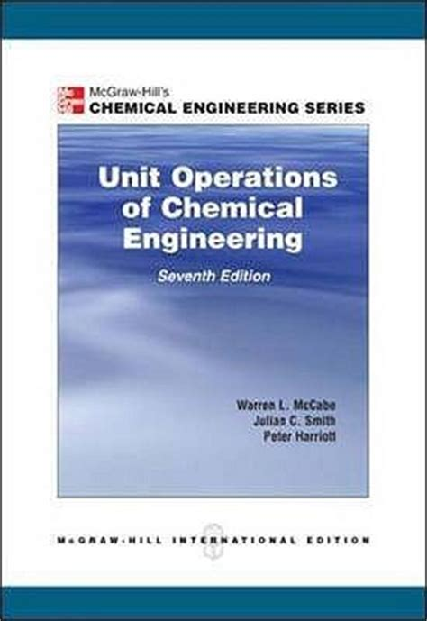 unit operations  chemical engineering  warren  mccabe