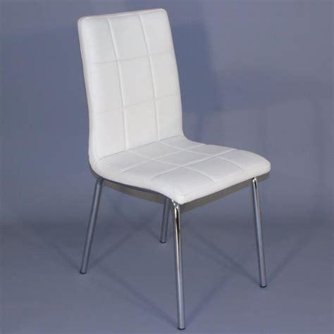 lot de 4 chaises blanches chaises pour salles à manger comparez les prix pour