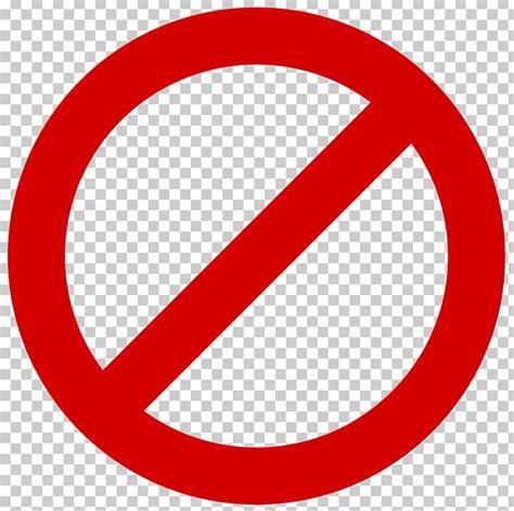 No Symbol Sign Png Clipart Area Brand Circle Clip Art