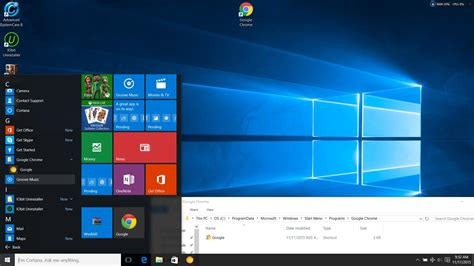 windows 10 changing chrome icon on the tile user