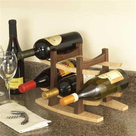 wine rack woodworking plan  wood magazine