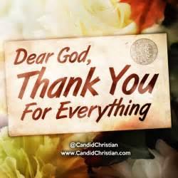 Thank You God Everything Prayer