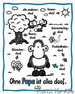 Ohne Dich Ist Alles Doof : sheepworld sheepworld ohne papa ohne dich ist alles doof pinterest deutsch und kunst ~ Watch28wear.com Haus und Dekorationen