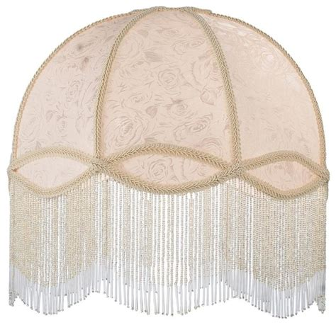 Victorian Beaded Lamps by Fabric And Fringe Dome Replacement Shade Contemporary