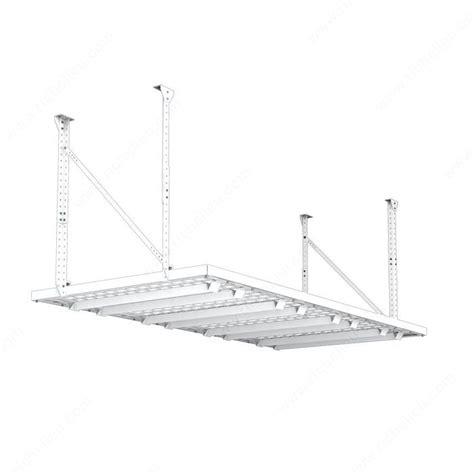 hyloft 96 quot x 48 quot super pro ceiling storage unit white