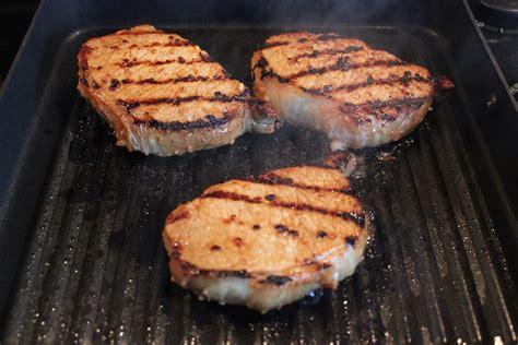 pork chop grill time george foreman grill cooking times boneless pork chops towngett