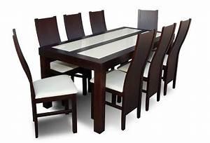 Table De Salle A Manger Et Chaises Table Sejour Extensible