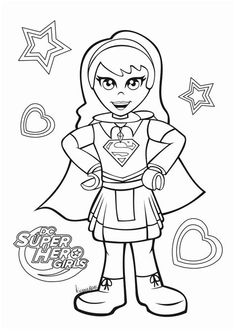 dc superhero girls coloring pages  coloring pages