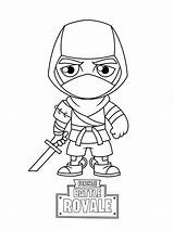 Fortnite Coloring Pages Printable Sheets Skins Ninja Skin Lineart Battle Royale Printables Characters Cartoon Fun Game Games Marshmello Books Doodles sketch template