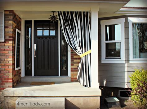 Outdoors Curtains : Diy Outdoor Curtains