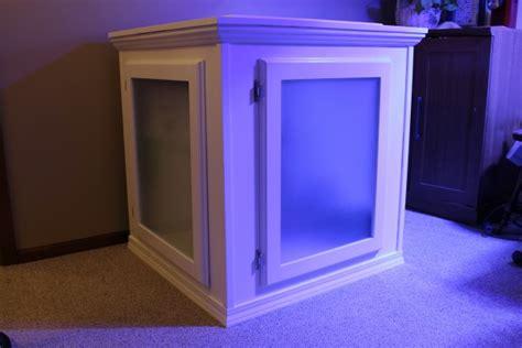 diy building  aquarium cabinet reefedition