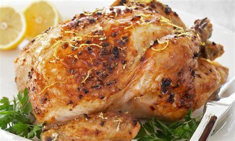 info recette cuisine poulet rôti au citron le poulet du québec