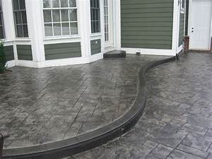 Gray Stamped Concrete Designs — Home Ideas Collection