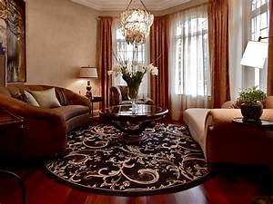 Round Rugs For Living Room
