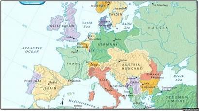 Europe War Map Before Poland European Sea