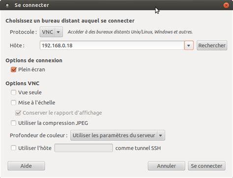 ubuntu bureau distant installation de logiciels sur pcduino pobot