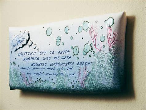 Wall Decor Etsy by Poem Ceramic Wall Via Etsy