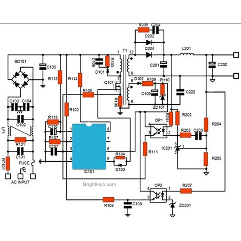 build  switch mode power supply circuit smps
