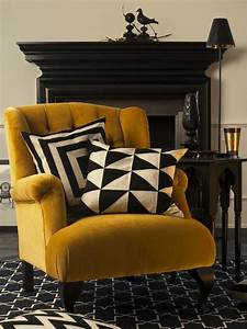 Tapis Jaune Et Noir : tapis noir et jaune 5 id es de d coration int rieure french decor ~ Teatrodelosmanantiales.com Idées de Décoration