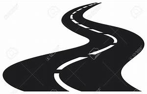 Winding Path Clipart Black And White - ClipartXtras