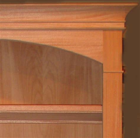 custom unfinished finished mahogany bookshelf