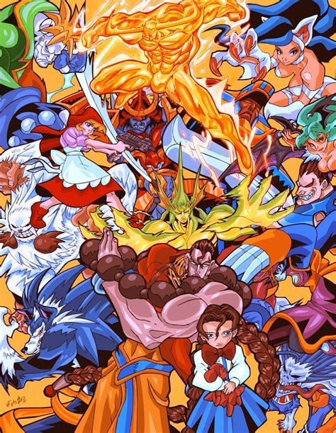 Darkstalkers Vs Guilty Gears Battles Comic Vine