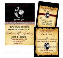 nightmare before wedding invitations items similar to nightmare before wedding invitation template themed wedding