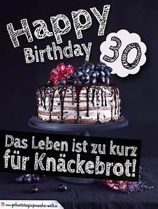 Geburtstagssprüche 30 Lustig Frech : geburtstagstorte 30 geburtstag happy birthday geburtstagsspr che welt ~ Frokenaadalensverden.com Haus und Dekorationen