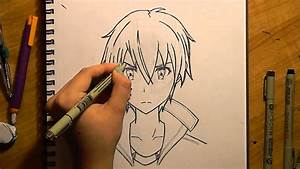 Kirito Speed Drawing